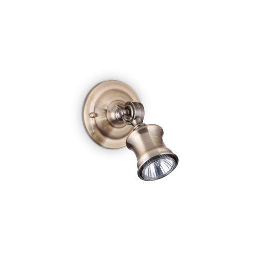 Ideal Lux Fali lámpa BARBER AP1 BRUNITO 159997