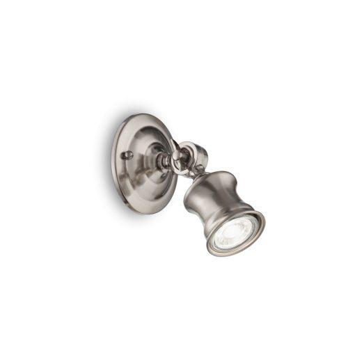 Ideal Lux Fali lámpa BARBER AP1 NICKEL 160016