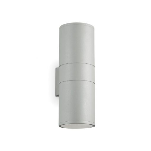 Ideal Lux Kültéri fali lámpa GUN AP2 BIG GRIGIO 163604