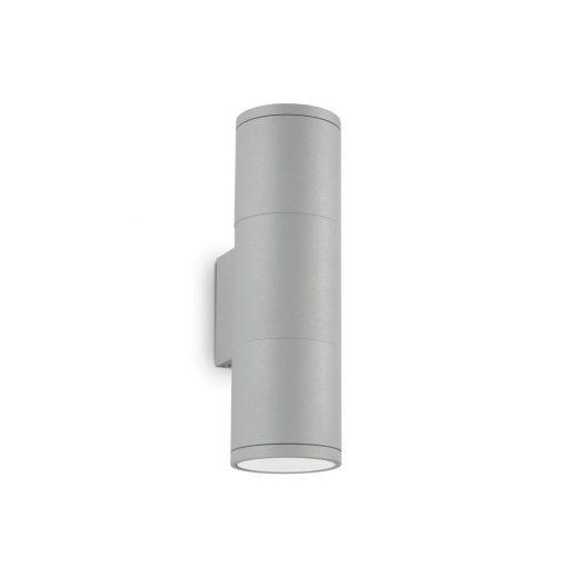 Ideal Lux Kültéri fali lámpa GUN AP2 SMALL GRIGIO 163628