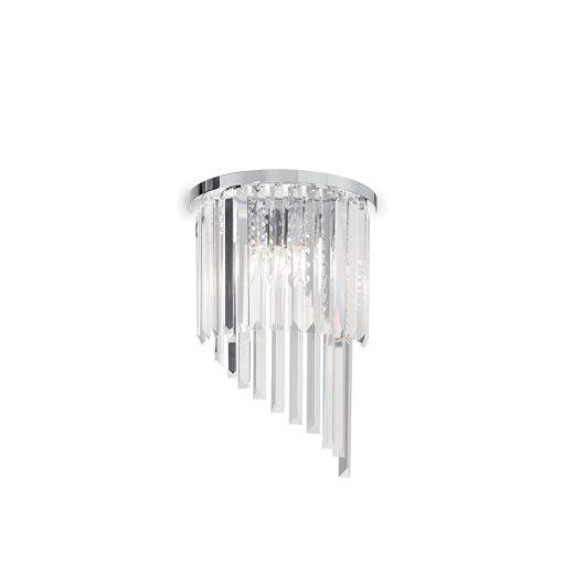 Ideal Lux Fali lámpa CARLTON AP3 CROMO 168913