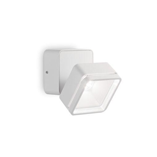 Ideal Lux Kültéri fali lámpa OMEGA AP SQUARE BIANCO 4000K 172507