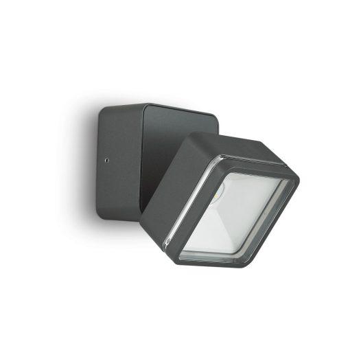 Ideal Lux Kültéri fali lámpa OMEGA AP SQUARE ANTRACITE 4000K 172514