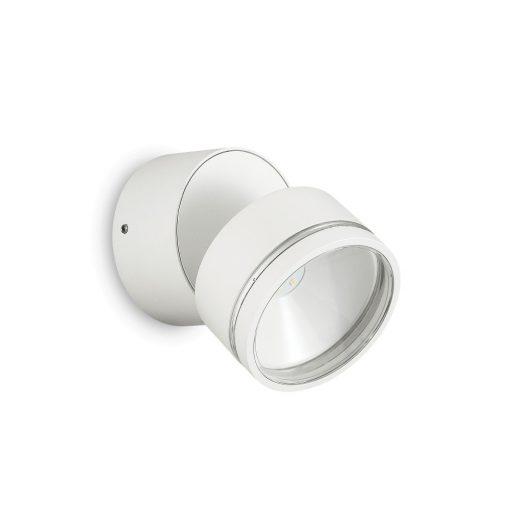Ideal Lux Kültéri fali lámpa OMEGA AP ROUND BIANCO 4000K 172538