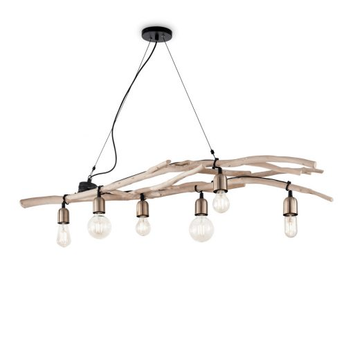 Ideal Lux Csillár DRIFTWOOD SP6 180922
