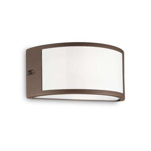 Ideal Lux Kültéri fali lámpa REX-1 AP1 COFFEE 213217