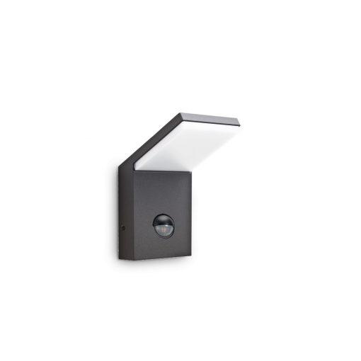 Ideal Lux Kültéri fali lámpa STYLE AP1 SENSOR ANTRACITE 221519