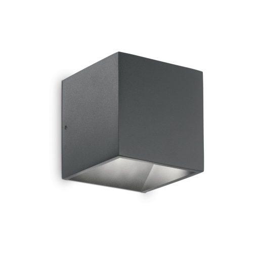 Ideal Lux Kültéri fali lámpa RUBIK AP1 ANTRACITE 3000K 247083